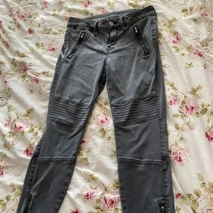 Ana black denim jeggings